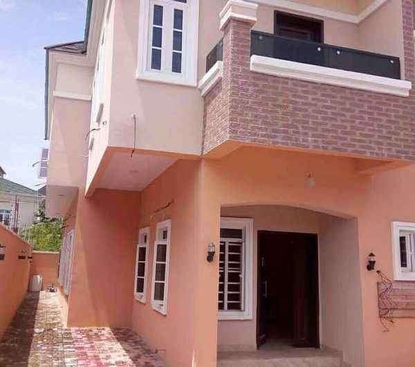 4 Bedroom semi detached Duplex with a BQ  for sale